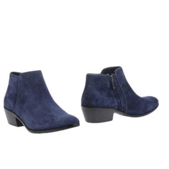 afb5c29c8 Sam Edelman Ankle Booties Navy Blue Women s 7.5. M 5ada7d20a6e3ea2511212040